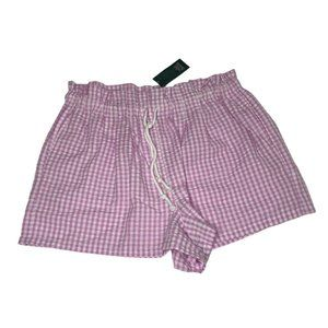 NWT, Wild Fable pink and white checkered shorts